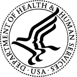U.S. Department of Health and Human Services logo