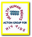 Action Group for Health, Human Rights, and HIV/AIDS logo