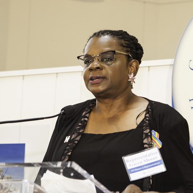 Representative Gwen Moore (D-WI)