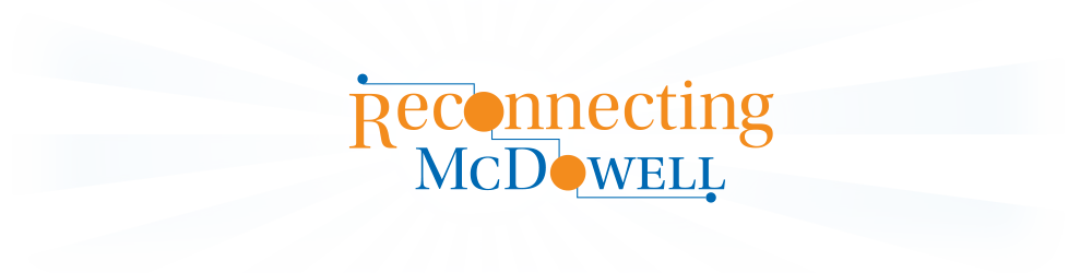 Reconnecting McDowell logo