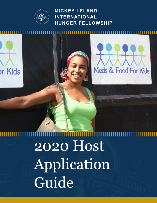 Cover of 2020 Host Application Guide