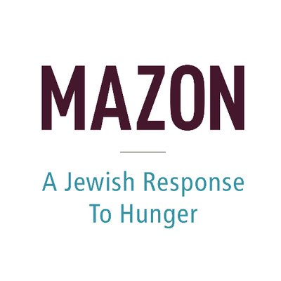 MAZON: A Jewish Response to Hunger logo